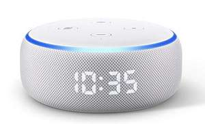 Amazon Echo Dot with Clock (3rd Generation) - Sandstone £39.99 Free delivery / C&C @ Currys