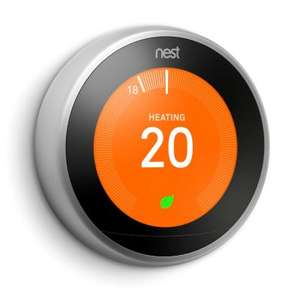Google Nest Smart Thermostat - Stainless Steel - 3rd Generation £167.99 @ City Plumbing