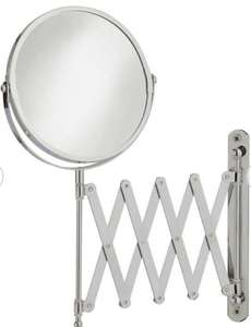 Argos Home Extendable Magnifying Shaving Mirror - Chrome £7.50 + Free Click and Collect @ Argos