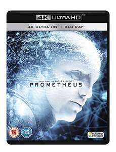Prometheus 4K UHD Blu-ray [2012] £9.69 (Prime) / £12.68 (non Prime) at Amazon