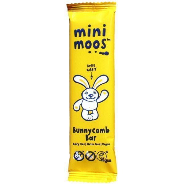 Mini Moos Bunny Comb vegan, dairy-free, gluten-free & no gm 25g bars - 39p each @ Poundstretcher Bury Mill Gate