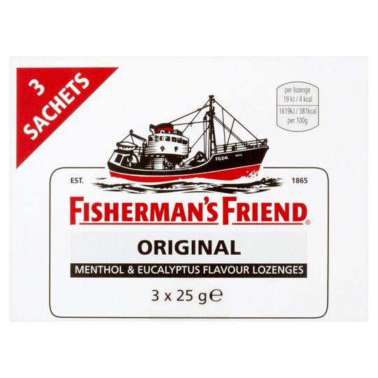 Fishermans Friend Strong Original 3X25g Packs On Offer For 2 For £3.50 @ Tesco