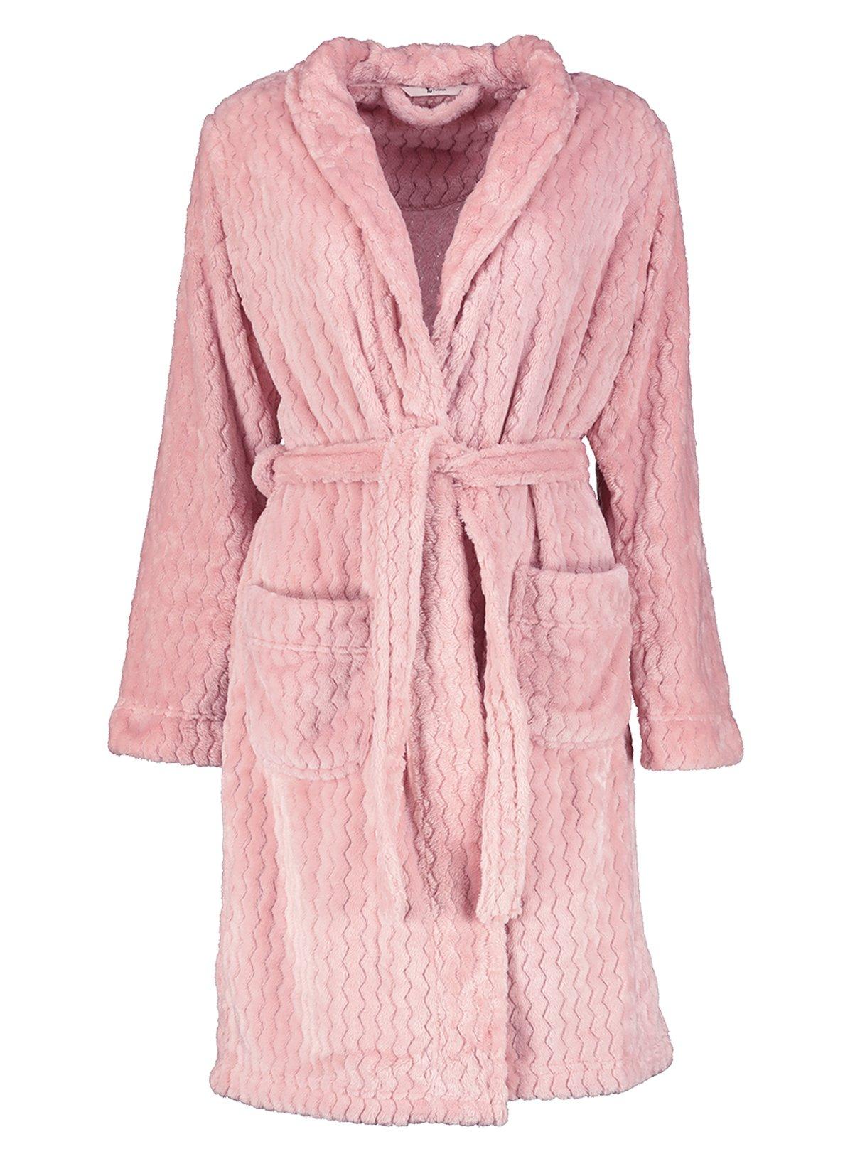 Pink Fleece Dressing Gown XS / XXL - £7.50 @ Argos