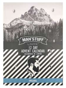 Man'Stuff 12 Day Christmas Advent Calendar Gift Set For Men 2019 - £7.78 prime / £12.27 Sold by Solretail LTD and Fulfilled by Amazon.
