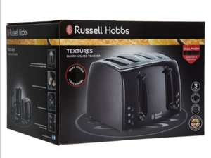 Russell hobbs 4 slice toaster £17.99 click and collect @ TK Maxx