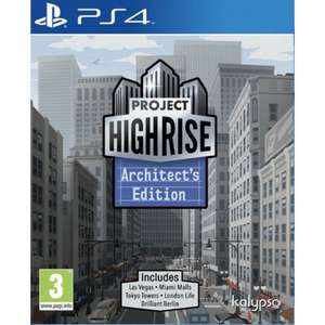 Project Highrise Architects Edition (PS4) for £3.95 Delivered @ The Game Collection