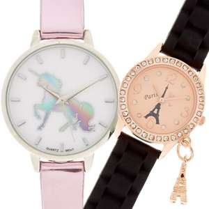 Various Watches For £5 Each - Free Click & Collect @ Claire's Accessories