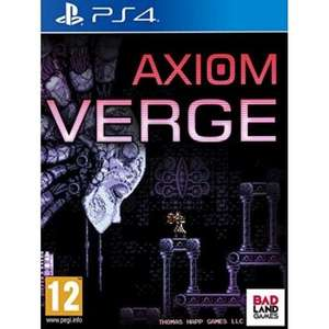 [PS4] Axiom Verge - £4.95 delivered @ The Game Collection