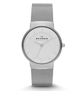 Skagen Nicoline Women's Steel Mesh Watch for £41.99 with click and collect @ tkmaxx.com