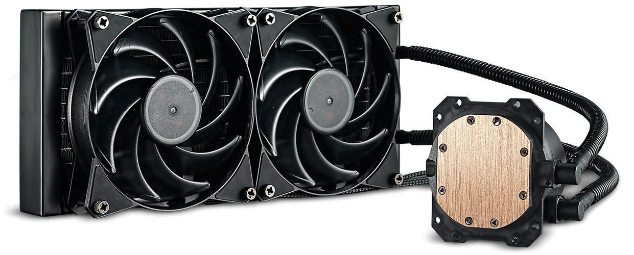 Cooler Master Masterliquid Lite 240 AIO CPU Cooler £34.99 @ Novatech