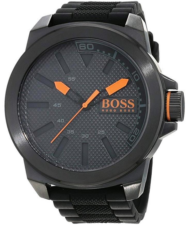 Hugo Boss Orange New York Men's Black Strap Watch £74.99 at Argos