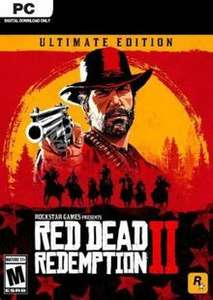 [PC] Red Dead Redemption 2 - Ultimate Edition - £32.99 @ CDKeys