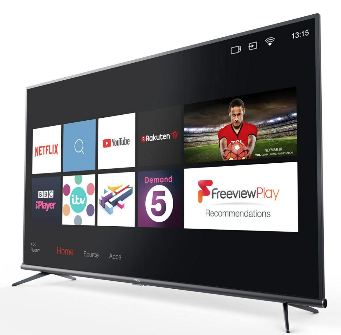TCL 55EP648 55 Inch 4K Ultra HD Smart TV + 5 Year Warranty £299.89 @ Costco