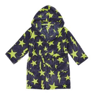 bluezoo Navy Star Dressing Gown 12-18 months £3 delivered with code @ Debenhams