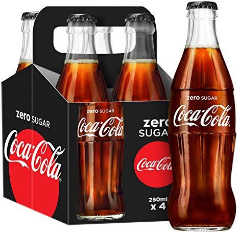 4 Coke Zero or Diet Coke 250ml bottles £2.49 @ ALDI Whitebirk Blackburn