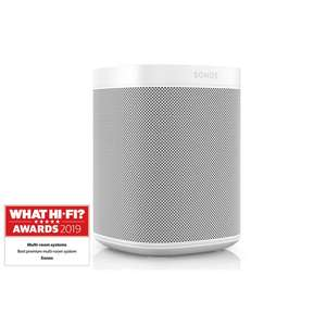 Sonos One Gen 2 (White) Voice Activated Smart Speaker Refurb £143.10 with code @ Richer Sounds