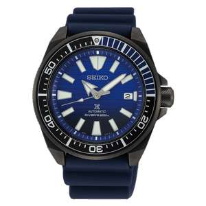 Seiko Men's Save The Ocean - Black Series Prospex Samurai Watch SRPD09K1 £260.10 (With Code) @ Hillier Jewellers