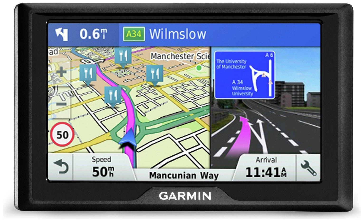 Garmin Drive 40LM 4.3 Inch Sat Nav with Lifetime Maps UK & Western Europe £60 at Argos