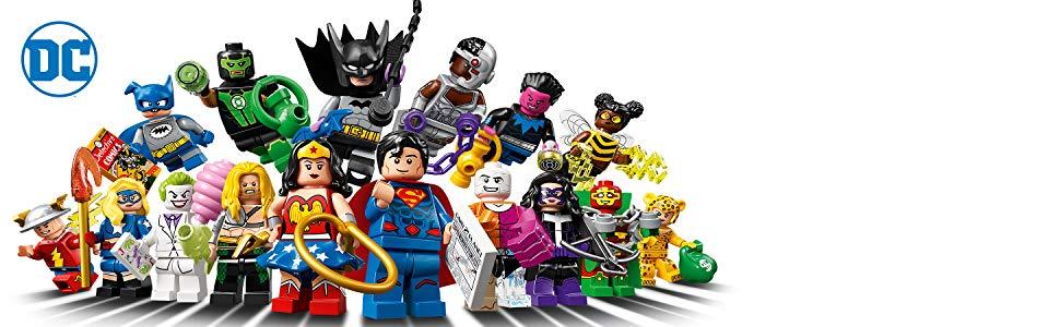 LEGO Minifigures DC Super Heroes Series - £2.99 @ Amazon Prime (+£4.49 non-Prime)