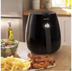 Philips HD9220/20 Air Fryer with Rapid Air Technology for Healthy Cooking, Baking and Grilling, Plastic, 1425 W, Black £99.99 @ Amazon