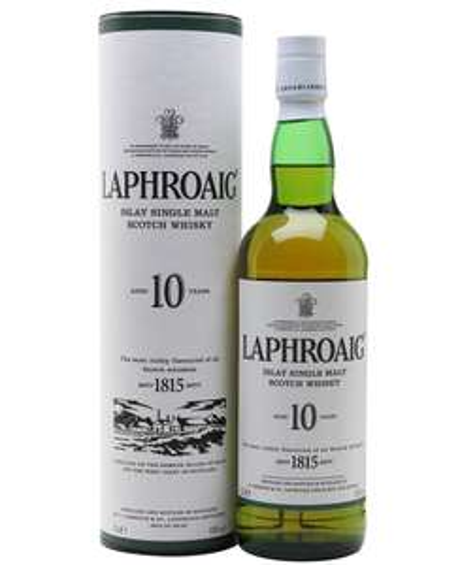 Laphroaig 10 year old islay single malt scotch whisky, 70 cl £19 at Tesco Welling