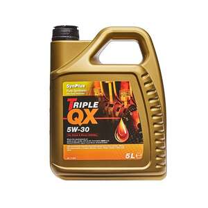 5L Triple QX Fully Synthetic 5W-30 Engine Oil £15.49 delivered (with code) Euro Car Parts