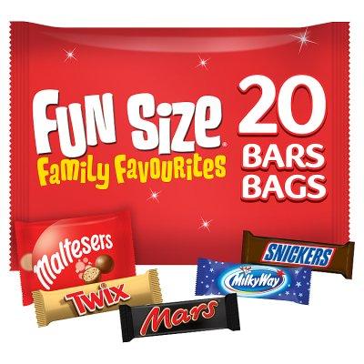 Fun Size Family Favourites 20 Bars 358g £1.39 @ Waitrose