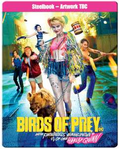 BIRDS OF PREY 4K STEELBOOK & T-SHIRT ONLY £38.99 OR ULTIMATE BUNDLE FOR £43.99! @ Zavvi