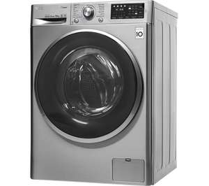 LG Steam F4J610SS NFC 10 kg 1400 Spin Washing Machine - Graphite with 5 year warranty £379 with code @ Currys
