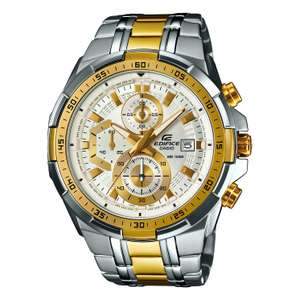 Casio Edifice Men's Two Tone Stainless Steel Bracelet Watch £104.99 with code at H.Samuel