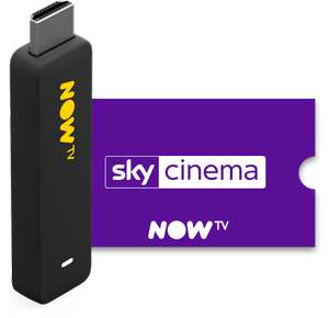 Now TV smart stick and cinema pass £6.99 - invite only @ NOWTV