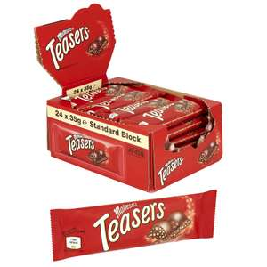Box of 24 Maltesers Teasers 35g Bars -£10 Delivered / £9.50 For New Accounts Using Code @ Yankee Bundles [BBE 31/05/2020]