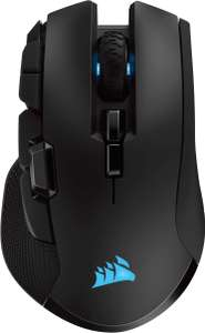 Corsair Ironclaw RGB Wireless Optical Gaming Mouse with Slipstream Technology 18000 DPI 3-Zone Black - £44.99 @ Amazon
