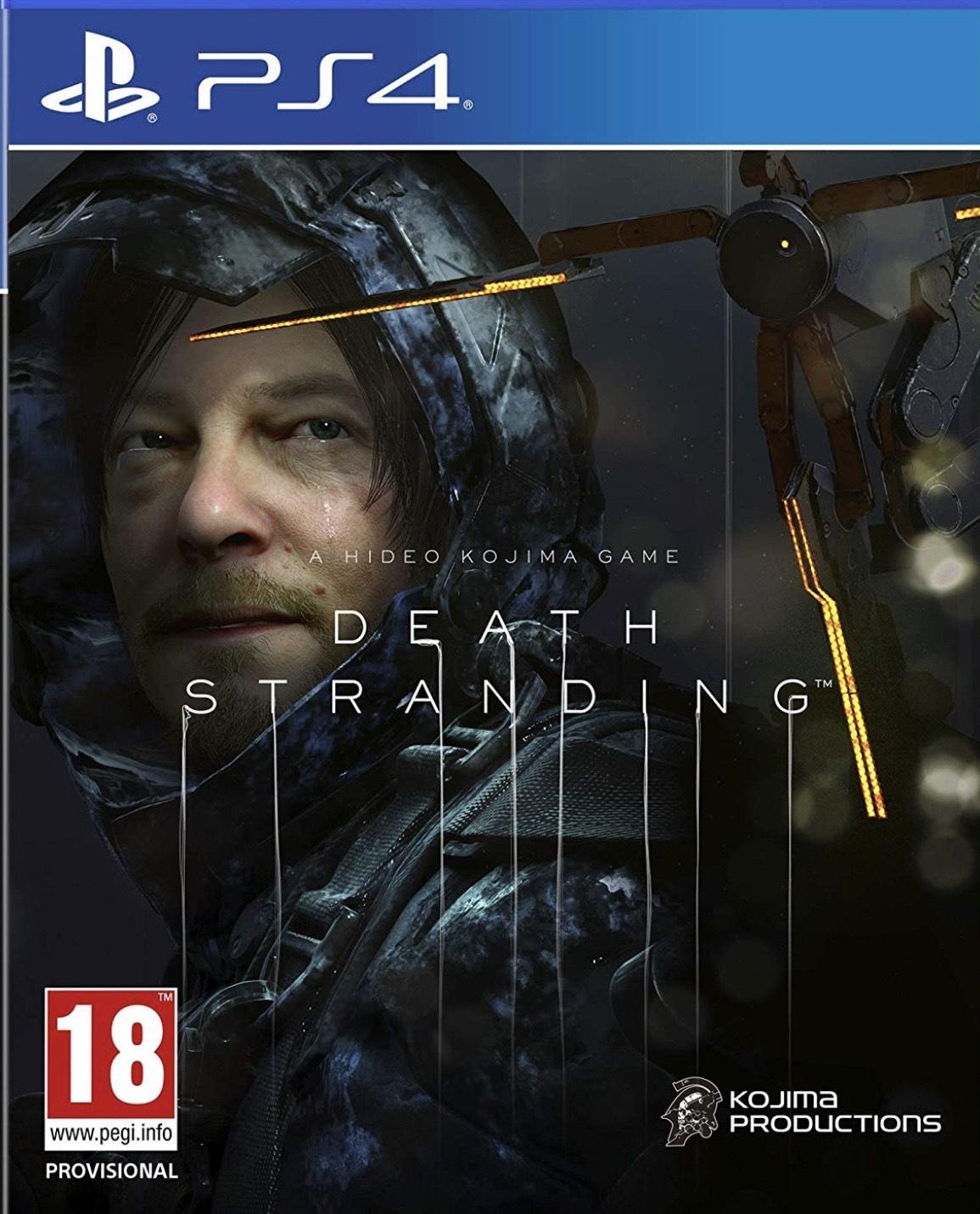 Death Stranding (PS4) Ex-rental - £25.99 delivered @ boomerang rentals via eBay