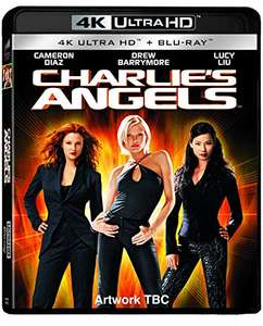 Charlie's Angels (2000) (2 DISCS - UHD & BD) [Blu-ray] [Region Free] £9.99 Prime / +£2.99 non Prime @ Amazon