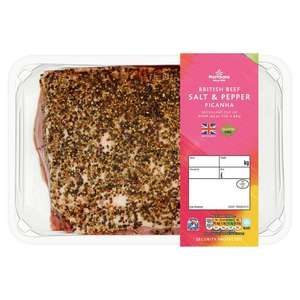 Picanha Beef Joints (with salt and pepper rub or plain) @ Morrisons £11 a kg Instore Only