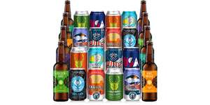 Flavourly - *NO SUBSCRIPTION* - Mixed 24 Beer Bottle Collaboration Case £29.95 delivered + £7 Cashback via TCB (96p per Can / Bottle)