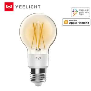 Xiaomi mijia yeelight smart LED Filament bulb for £11.86 (£8.72 for new users using code) delivered @ AliExpress Deals / Mi homes Store