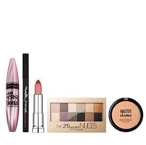Maybelline Glow All Night 6-Piece Make Up Gift Set for Her - £26.99 @ Amazon
