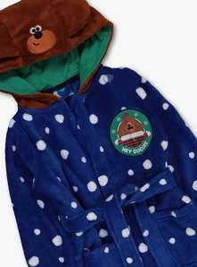 Hey Duggee Blue Fleece Dressing Gown 1-4 years now £5.50-£6 free click and collect at Argos