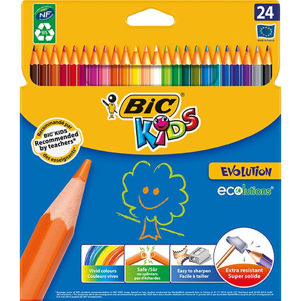 Bic Kids Evolution Colouring Pencils £2 + £2 C&C at Wilko