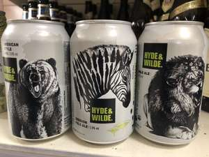 Hyde & Wilder IPA reduces to £1 in Sainsbury's Reading