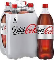 4 x 1.5L Bottles of Diet Coke. £3. Heron Foods. Abbey Hulton.