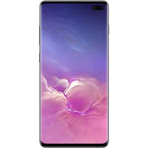 "Samsung Galaxy S10 Plus Ceramic Black 6.4"" 512GB 4G Dual SIM Unlocked & SIM Free Smartphone £649 @ Laptops Direct"