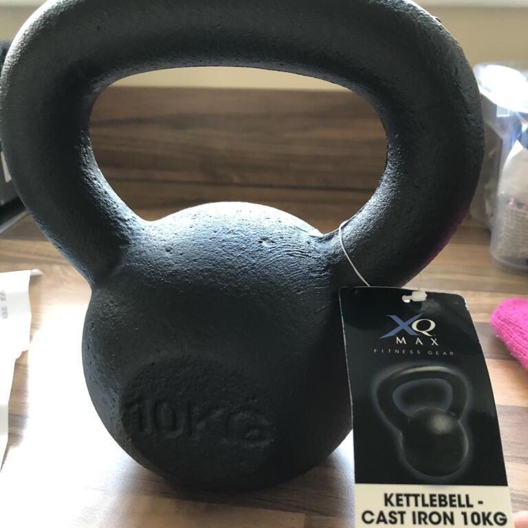 10kg cast iron kettle bell - £5.75 instore Tesco