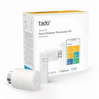 Tado Smart Radiator Thermostat - Horizontal or Vertical Starter Kit V3+ - £44.99 Delivered @ Box