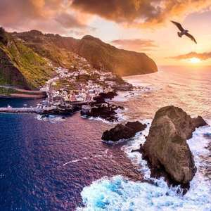 Return flights to Madeira (Portugal) from London Gatwick now £91 (Departing 04/11 - 7/11 Inc. taxes exc. checked baggage) at Skyscanner