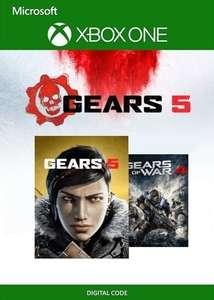 Gears 5 Ultimate Edition + Gears of War 4 Bundle (PC/Xbox One) Xbox Live Key GLOBAL £16.25 @Eneba