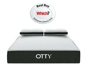 EXTRA 20% OFF (Auto Applied) OTTY 2000 Pocket Sprung Cool Gel & Memory Foam Mattress REFRESHED £159.20 @ zero50retail Ebay