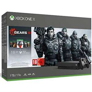 Xbox One X 1TB Gears 5 Bundle inc. GOW 1 to 5 plus 1 Month Game Pass + 14 days Live £265.83 @ Amazon Italy (or £258 using fee free card)